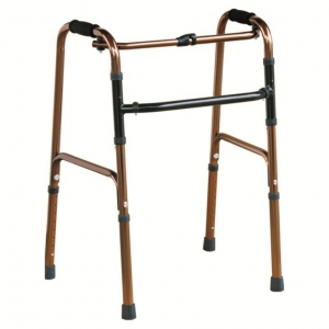 China #JL919L  Button Folding Walker With & Height Adjustable on sale
