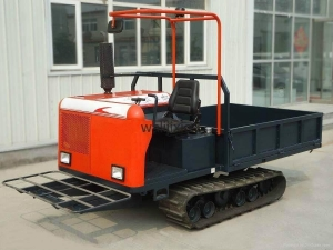 China Spare part Agricultural crawler truck dumper on sale