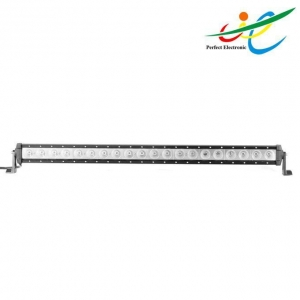 China 39'' Single row Cree 200W light bar with side bracket on sale