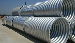 China Hot Dipped Galvanized Corrugated Metal Culvert Pipe on sale