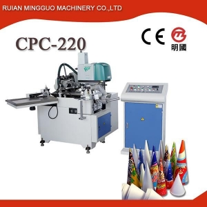 China Ice Cream Cone Sleeve Forming Machine on sale