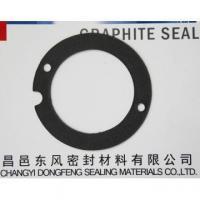 China Flexible graphite gaskets, graphite foil,graphite plate, flexible graphite, carbon content is 99% on sale