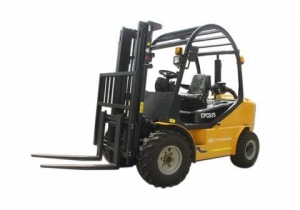 China CPCD25/30 Rough terrain forklift on sale