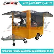 China factory price electrical mobile food cart/food kiosk/food van on sale