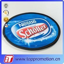 China custom nylon foldable frisbee with poncho cheap frisbee wholesale on sale