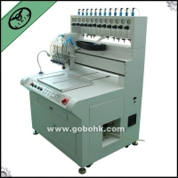 PVC zipper puller making/dispensing/dripping machine