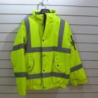 high vis bomber jacket Hi Vis Bomber Jacket