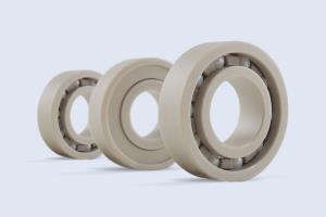 China Radial PEEK Ceramic Hybrid Bearings on sale