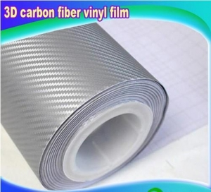 China HID xenon light Silver carbon vinyl on sale