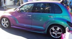 China HID xenon light Chameleon car sticker on sale