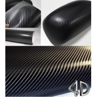HID xenon light 4D Carbon Fiber vinyl
