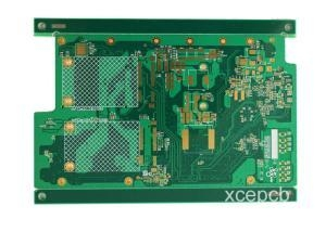 China High Speed Design Multi Layers 8 Layer Electronic Board FR4 Metal Detector PCB on sale