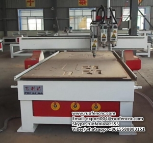 China FLDM1325-3 3 heads ATC CNC router on sale