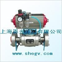 China Q641F pneumatic ball valve on sale