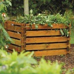 China FSC Wooden Compost Bin - 450 Litres on sale