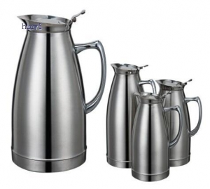 China Stainless steel double vacuum pot on sale