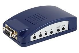 China LKV2000 PC to TV Converter-Composite & S-Video & VGA Loopthrough(discontinued) on sale