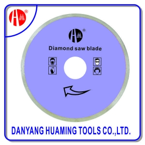 China HM17 7 Inch Continuous Rim Wet Cut Diamond Blade For Masonry Circular Saw Blade on sale