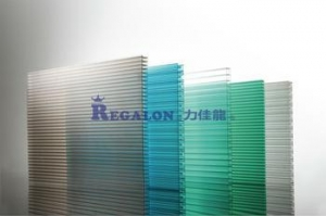 China UV-coated Polycarbonate Multiwall Sheet on sale