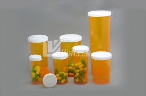 China Vials with Non-lock snap cap,snap vials on sale
