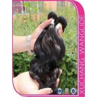 Indian Human Hair Weft in Stock