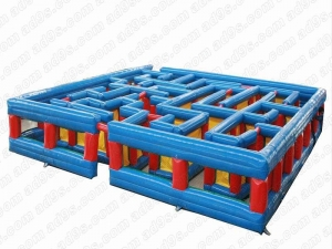 China Attractive inflatable maze / inflatable maze game for sale(XGIS-106) on sale