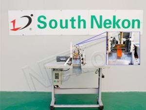 China Nonwoven bag handle cutting machine on sale