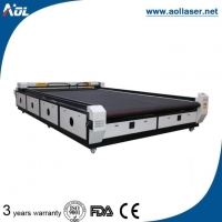 CO2 Flatbed Laser Cutting Machine for Table Cloth/Curtain/Household Textile (AOL2040)