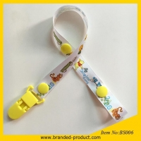 wholesale Pacifier Clip Type Polyester Baby Teether Holder baby toy holder Teether Leash