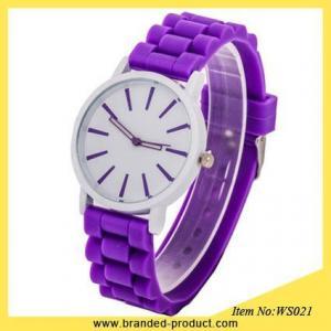 China fashion quartz ladies silicone geneva watch cheap silicone watches best watches for children on sale