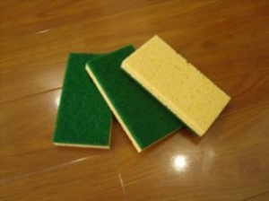 China cellulose sponge scourer on sale