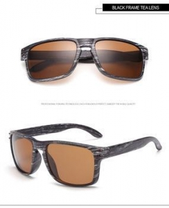 China Black frame Tea lens wood sun glasses women sunglasses 2016 on sale