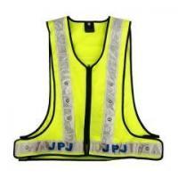 China LED Lime Mesh Safety Vest Item No.: V012 on sale