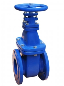 China Non rising stem solid wedge gate valve on sale