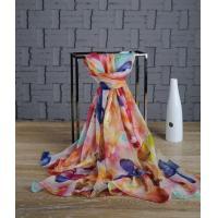 China chiffon shawls and wraps Custom Chiffon Shawl China Supplier on sale