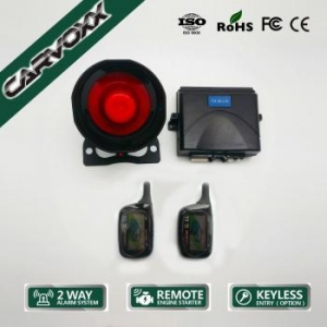 China Two-Way Car Alarm with Remote Engine Starter CX-990 on sale