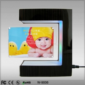 China Magnetic Floating photo frame display on sale