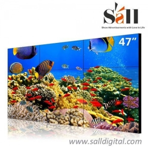 China 47 Inch ultra narrow bezel 3x3 xxx video tv video wall SL-VW470 on sale