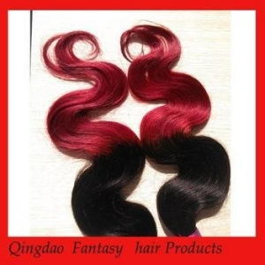 China Brazilian Ombre Hair Wholesale Aliexpress Two Color Omber Hair weaves on sale