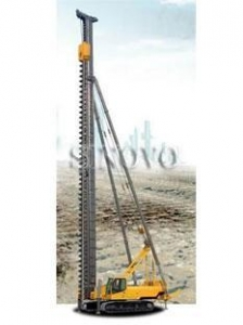 China Electro-Hydraulic Track Pile Driving Rig on sale