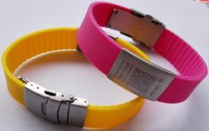 China ID Key Tag Adjustable Id Bracelet on sale