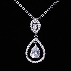 China High Quality Costume Jewelry Sterling Silver Necklace on sale