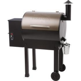 China Traeger Lil Tex Elite 22 Pellet Grill On Cart - TFB42LZB on sale