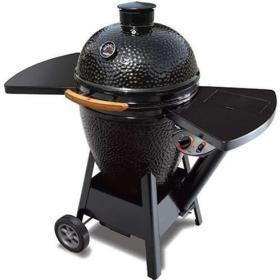 China Black Olive Pellet Kamado Grill - On Cart on sale