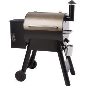 China Traeger Pro Series 22 Pellet Grill On Cart - Bronze - 2016 Model on sale