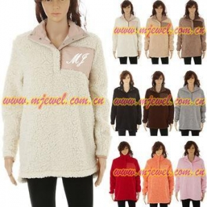 China FACTORY wholesale fleece sherpa pullover on sale