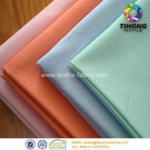 China Space dye poly cotton textile workwear fabric on sale