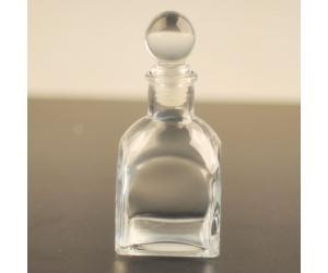 China Glass perfume bottle with surlyn cap on sale