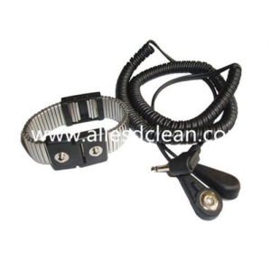 China Safety Metal Antistatic Wrist Strap with cord on sale