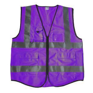 China surveyors vest with back pocket Surveyor Safety Vest on sale